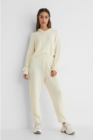 Lisa-Marie Schiffner x NA-KD Recycled Sweatpants Med Hög Midja