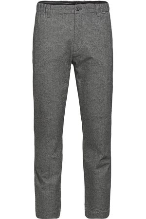 Calvin Klein Tapered Elastic Texture Pant Kostymbyxor Formella Byxor