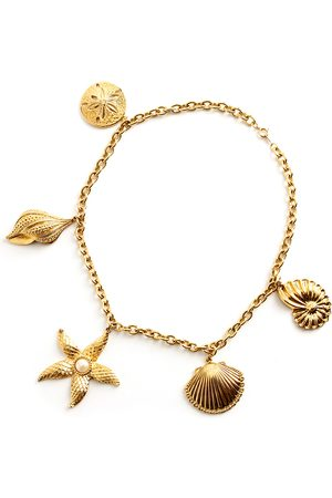 Kenneth Jay Lane Sea star shell necklace