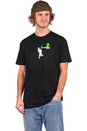 Rip N Dip Hung Up Pocket T-Shirt black