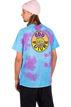 ODD FUTURE Gradient Look Up T-Shirt tie dye