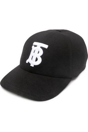 Burberry Basebollkeps med broderad logotyp