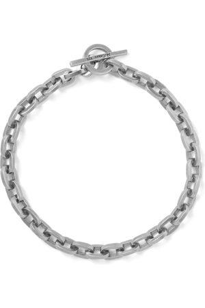 M. COHEN Man Armband - Burnished Sterling Chain Bracelet