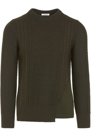 Paolo Pecora Crewneck sweater with inserts 0A065 7012-5334