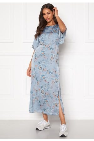 Happy Holly Mila dress Light blue / Patterned 34