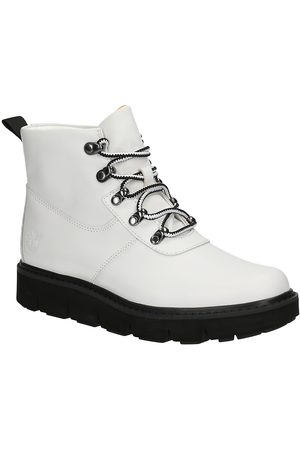 Timberland Raywood Alpine Hiker Boots white full grain