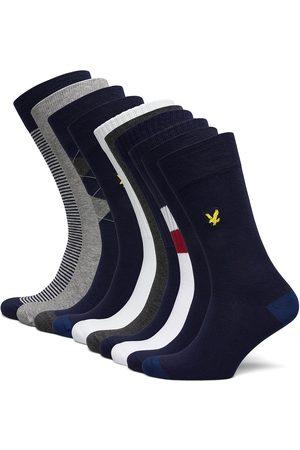 Lyle & Scott Man Strumpor - Bobby Underwear Socks Regular Socks Multi/mönstrad