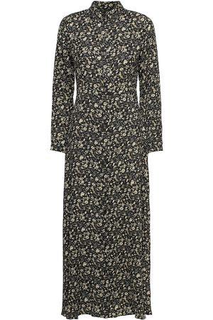 YAS Naomi Ls V-Neck Dress Maxiklänning Festklänning