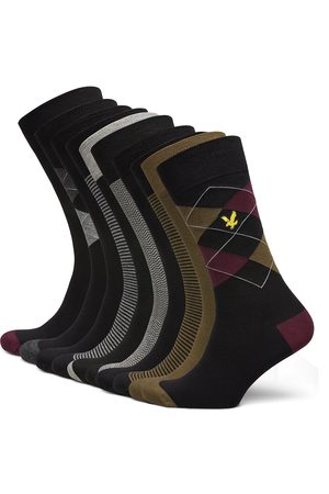 Lyle & Scott Thomas Underwear Socks Regular Socks Multi/mönstrad