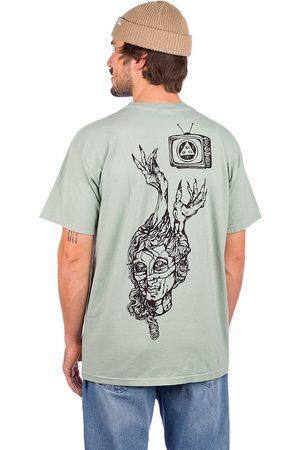 Welcome Beldam T-Shirt dyed sage