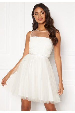 Moments New York Desire mesh dress White 32