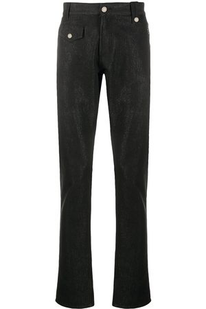 Alexander McQueen Logo patch denim jeans