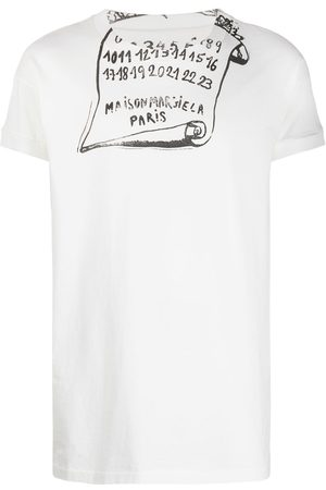Maison Margiela Man T-shirts - T-shirt med tryck