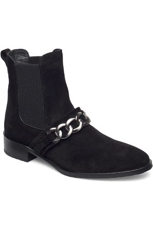 ANGULUS Booties - Flat - With Elastic Shoes Boots Ankle Boots Ankle Boot - Flat