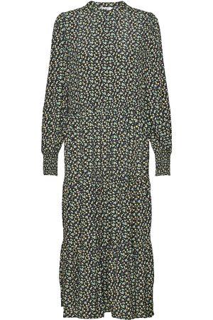 Envii Endowning Ls Ma Dress Aop 6257 Maxiklänning Festklänning Multi/mönstrad