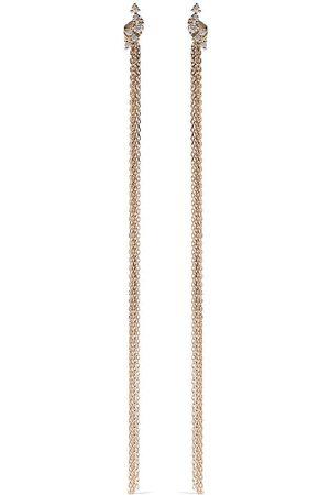 Mizuki Kvinna Örhängen - Sea of Beauty diamantörhängen i 14K gult