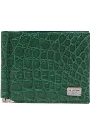 Dolce & Gabbana Vikt plånbok med logotypplakett