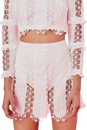 For Love & Lemons Morrison Micro Mini Skirt