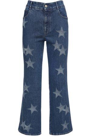 Stella McCartney Eco Cropped Cotton Denim Jeans