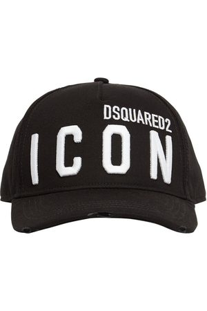 Dsquared2 Man Kepsar - Icon Embroidery Cotton Gabardine Cap