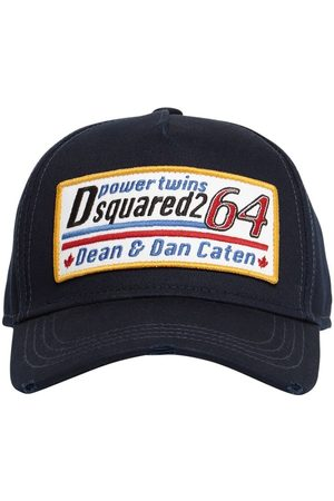 Dsquared2 Patch Cotton Gabardine Cap