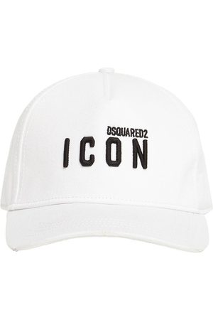 Dsquared2 Man Kepsar - Micro Icon Embro Cotton Gabardine Cap