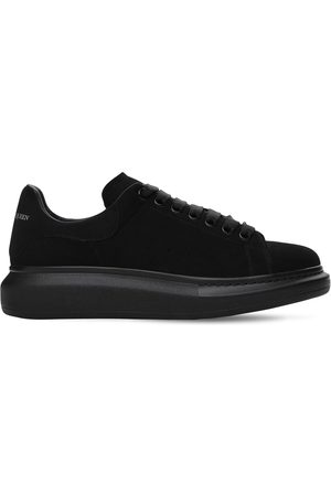 Alexander McQueen 45mm Platform Suede Sneakers
