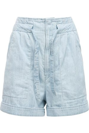 Isabel Marant Marius Light Denim Shorts