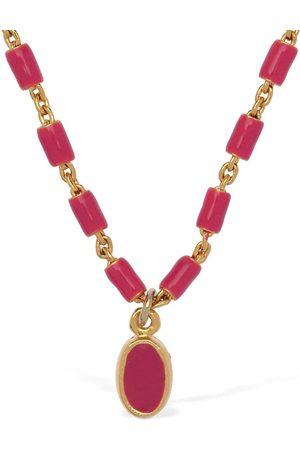 Isabel Marant Casablanca Beaded Long Necklace