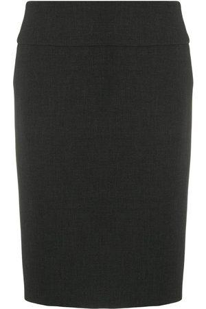 PESERICO SIGN Straight mid-rise skirt