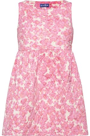 Cras Kvinna Festklänningar - Sun Dress Kort Klänning Rosa