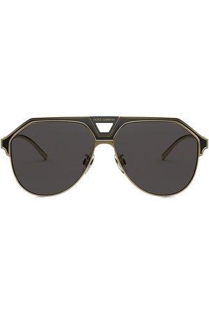 Dolce & Gabbana Miami pilotsolglasögon
