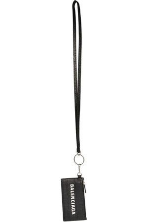 Balenciaga Lanyard zip pouch wallet