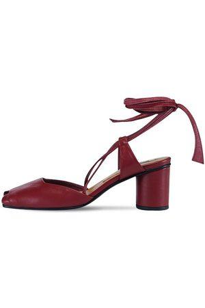 Reike Nen 60mm Open Toe Leather Sandals
