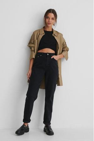 NA-KD Ekologiska Mom-jeans Med Hög Midja