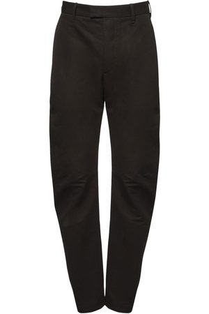 Bottega Veneta Compact Cotton Faille Pants