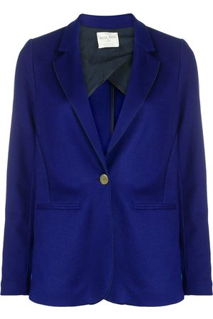 FORTE FORTE Button-down fitted blazer