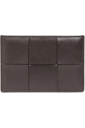 Bottega Veneta Maxi Intreccio Leather Card Holder