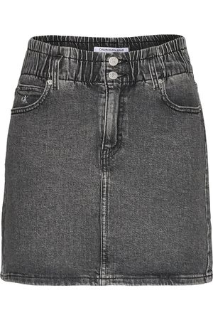 Calvin Klein High Rise Mini Skirt Kort Kjol