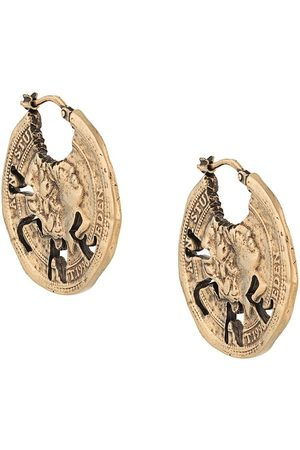 Acne Studios Örhängen - örhängen med vintage-mynt