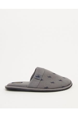 Ralph Lauren Polo – Summit – slip on-tofflor med logga