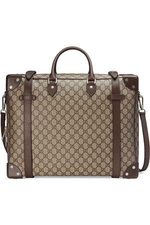 Gucci Suitcase with leather details