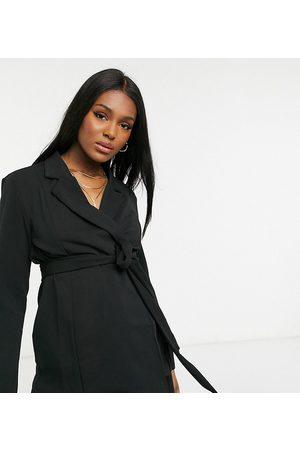 ASOS Kvinna Kavajer - ASOS DESIGN Maternity – omlottkavaj i jersey, del av kostym