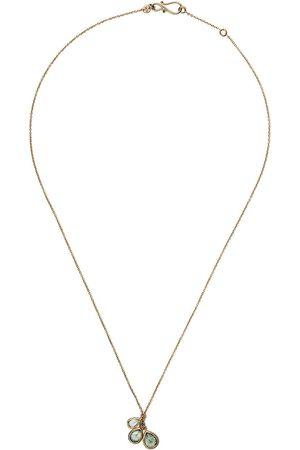 White Bird Halsband i 18K gult med safir
