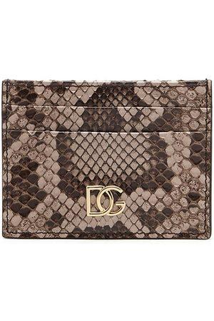 Dolce & Gabbana Snake DG cardholder