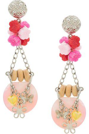 AMIR SLAMA Bouquet örhängen