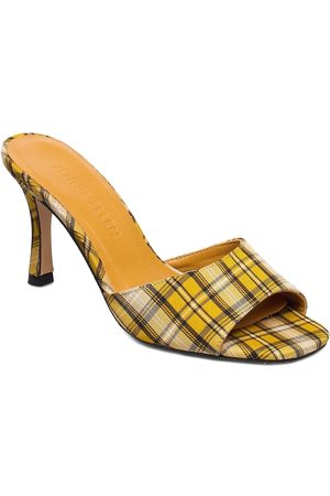 JENNIE-ELLEN Check Sandal Med Klack