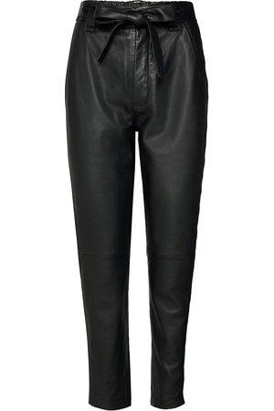 Second Female Kvinna Leggings - Indie Leather New Trousers Leather Leggings/Byxor