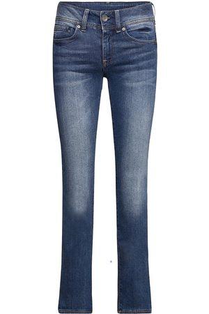 G-Star Kvinna Bootcut - Midge Mid Bootcut Wmn Jeans Boot Cut