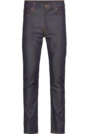 Nudie Jeans Lean Dean Slimmade Jeans Blå